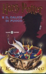 Harry potter e il Calice di fuoco libro in italiano