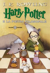 Harry Potter e la Pietra Filosofale libro in italiano